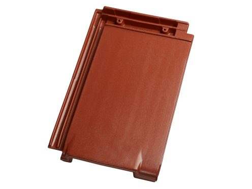 Singl product shot of the Figaro 11 sliding roof tile ventilation Engoba red roofing accessories