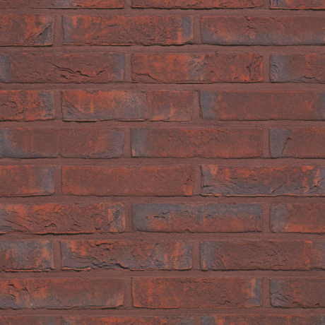 Packshot of a panel with Agora Wijnrood facing bricks