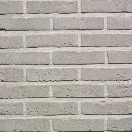 Packshot of a panel with Agora zilvergrijs facing bricks