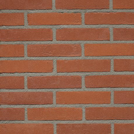 Productshot of the Rood Hardgrauw VB WF brick