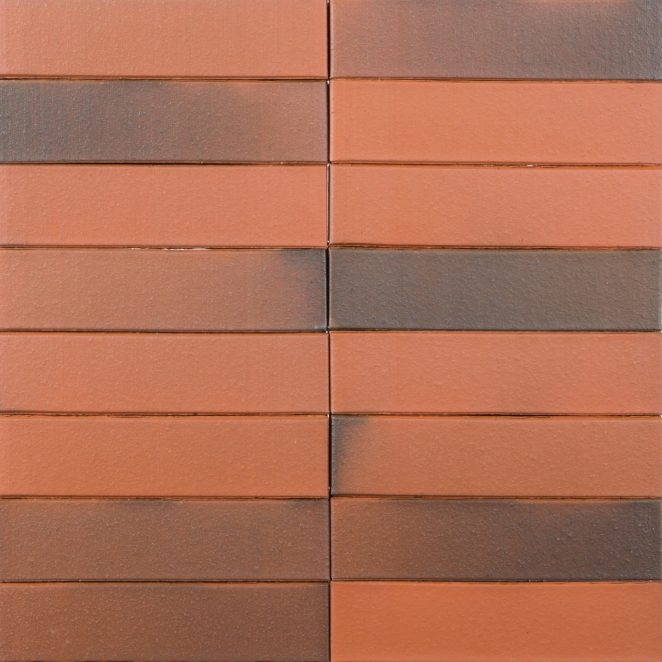 Terca Red flame Smooth ceramic bricks from Aseri plant (Estonia)