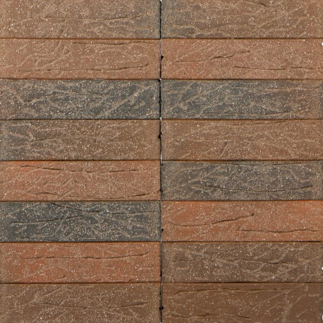 Terca Red flame Sanded ceramic bricks from Aseri plant (Estonia)