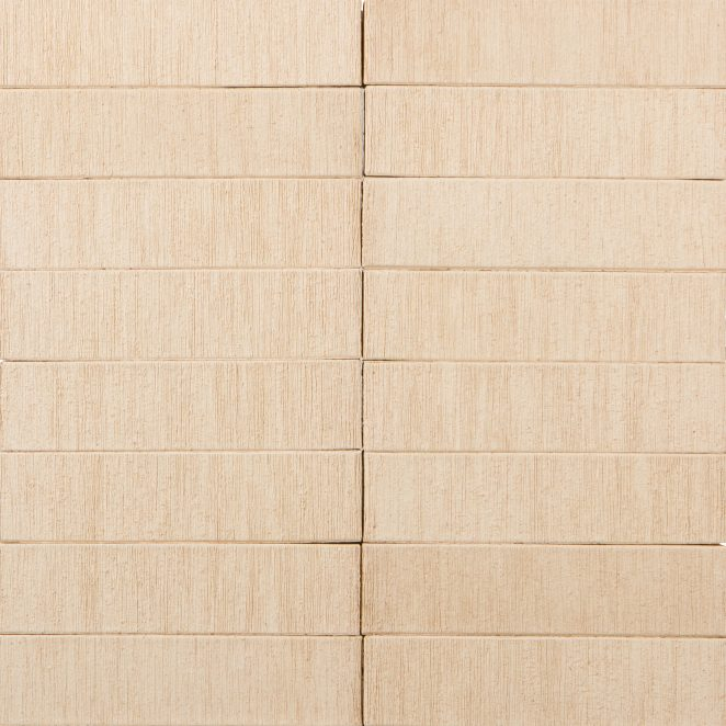Terca Kuura Brushed ceramic bricks from Aseri plant (Estonia)