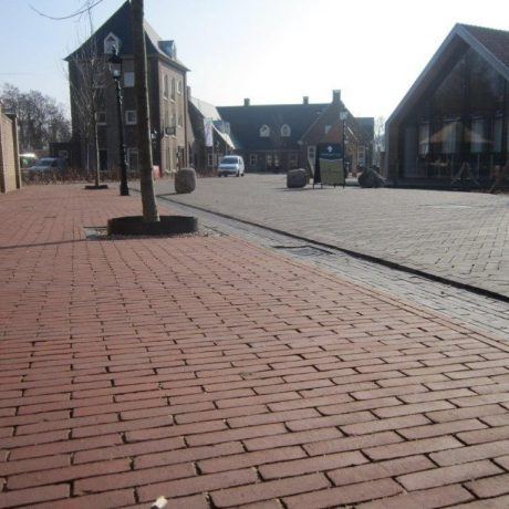 Renovation street, Commanderie, Ootmarsum | Pavers: Bruno, Nero and Mastiek water struck DF
