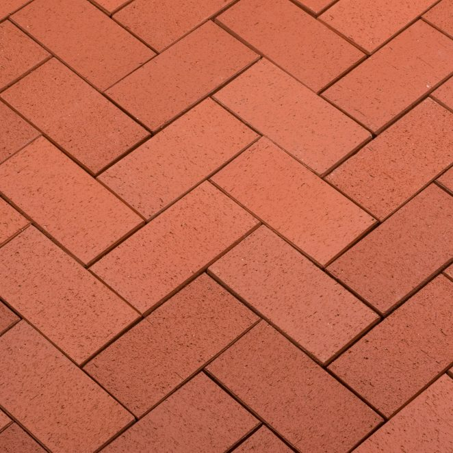 Penter Red Kare pavers from Aseri plant (Estonia)