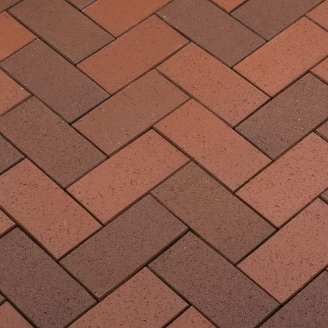Penter Terrakota Kare pavers from Aseri plant (Estonia)